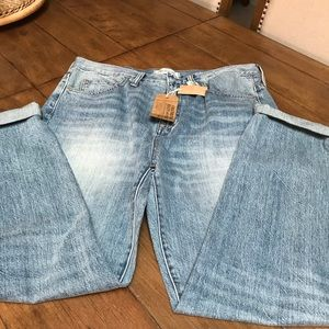 Madewell Perfect Summer Jeans, BF Style, Sz 31,NWT